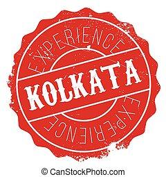 Kolkata stamp rubber grunge - Kolkata stamp. Grunge design...