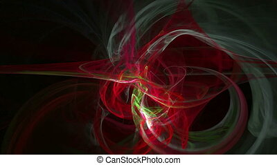 Colorful waves pattern abstract motion background