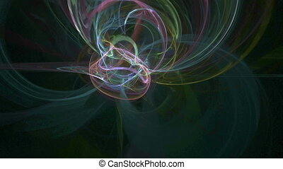 Colorful lines pattern abstract motion background - Colorful...