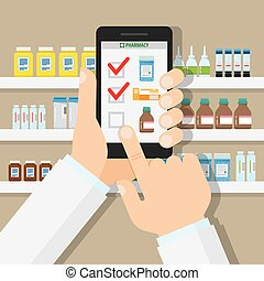 The concept of online pharmacy