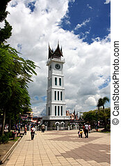 big ben,indonesian people called this landmark with jam...