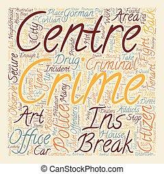 Civilian Crime Fighters text background wordcloud concept