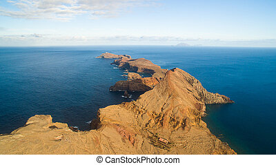 Island Ilheu da Cevada do Farol - the most easterly point on...