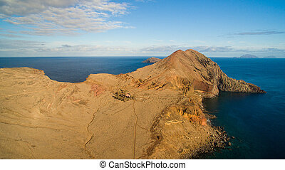 View from Ponta do Furado - Cais di Sardinha, Baia d'Abra -...