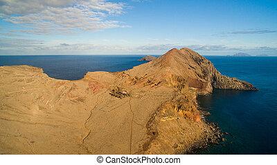 View from Ponta do Furado - Cais di Sardinha, Baia d'Abra -...