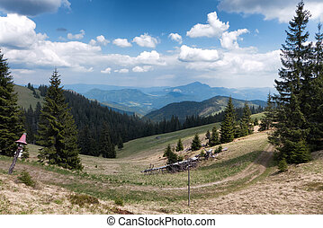 Great Fatra mountains, Slovakia - Great Fatra mountains in...