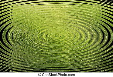 green background with circles - background with circles in...