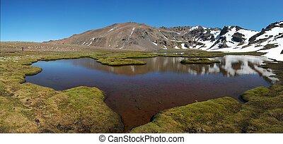 Specchio d'acqua e Cerro Atravesada