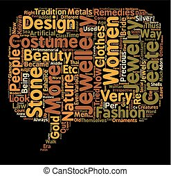 COSTUME JEWELLERY text background wordcloud concept