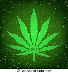green hemp sign