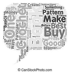 crochet books 1 text background wordcloud concept