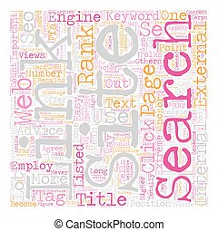 Crucial Factors In SEO text background wordcloud concept