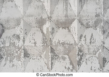 Abstract cement background, concrete texture painted with white paint.