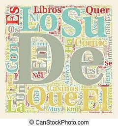 Divierte y Busca un Comic Book text background wordcloud...