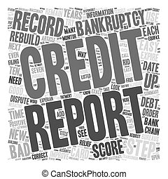 Easy Steps to Rebuild Your Credit after Bankruptcy text...