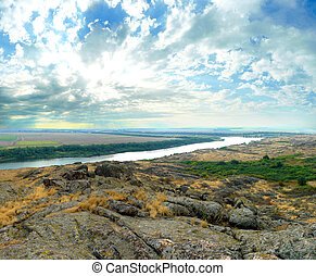 "National Park "" Stone Tombs "". Donetsk. Ukraine - National..."