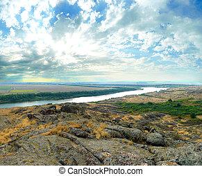 """National Park """" Stone Tombs """". Donetsk. Ukraine - National..."""