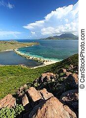 Landscape of Saint Kitts