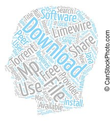 Free Mp Download Provider text background wordcloud concept