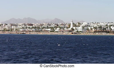 picturesque trip along the coastline and hotels in Red Sea -...