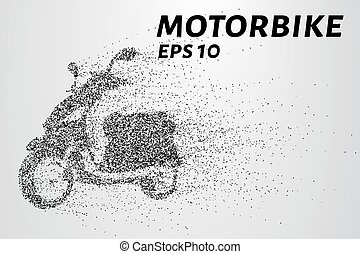 The motorbike of the particles. The motorbike breaks down...