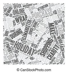 Holiday Scams and Thieves Exposed text background wordcloud...