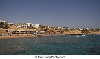 Beach in Egypt. Resort Red Sea Coast - EGYPT, SOUTH SINAI,...
