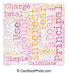 How Do I Calculate Finance Charges text background wordcloud...