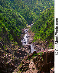 Barron Gorge - Australia - View of Barron Gorge from the top...