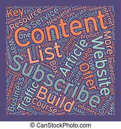How to Boost Your Website Traffic and Profits with Content text background wordcloud concept