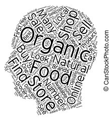 How to Buy Organic Foods 1 text background wordcloud concept