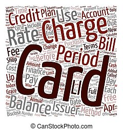 How To Choose and Use Credit Cards text background wordcloud...