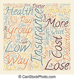 How To Compare Low Cost Health Insurance In Massachusetts text background wordcloud concept