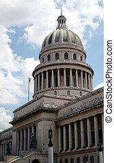 The Capitol building in Havana