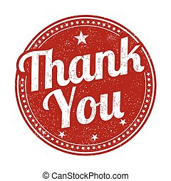 Thank you sign or stamp - Thank you grunge rubber stamp on...