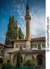 The Bakhchisaray Palace-residence of Crimean khans in XVI...
