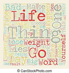 How to Lose Weight The Angry Pep Talk text background...