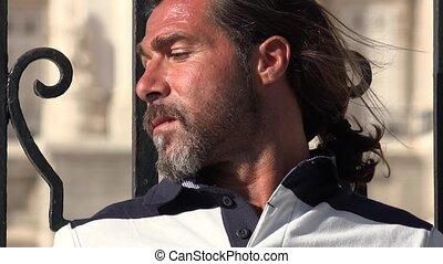 Adult Caucasian Male