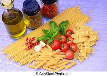 pasta with tomatoes
