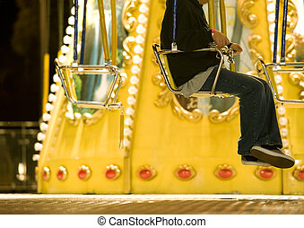 carnival swings - carnival fun