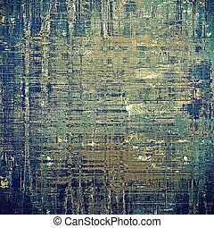 Old school background or texture with vintage style grunge...
