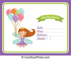 baby shower invitation card - Baby shower invitation card...