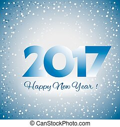2017 Happy New Year background - 2017 Happy New Year blue...