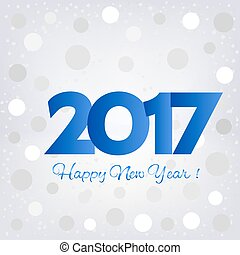2017 Happy New Year background. Pattern element for cover,...