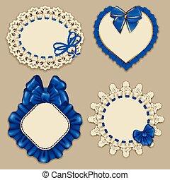 Set of elegant templates frame design - Set of elegant...