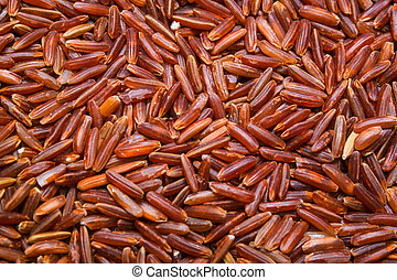 red rice background, texture