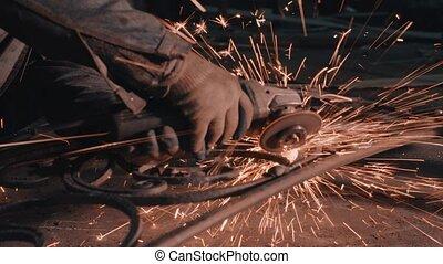 Smith welding metal details