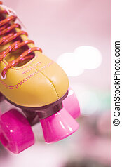 Rollerskates in skate store - Childrens quad skate...