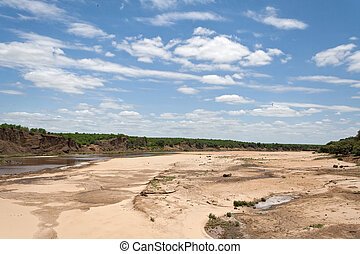 The Letaba River in the Kruger National Park, South Africa