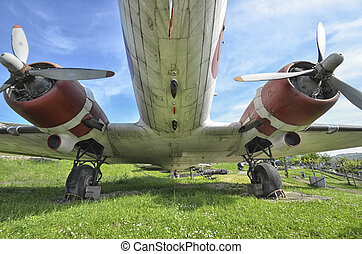 The radial engines of the DC-3 aircraft - The radial engines...